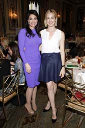 Kimberly Guilfoyle and Actress Kelly Rutherford. Photo by: Adriel Reboh, Patrickmcmullan.com