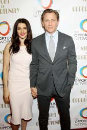 Rachel Weisz and Daniel Craig. Photo by:  Marion Curtis, StarPix.