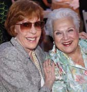 Carol Burnett and Marilyn Horne.  Photo by:  Baron Spafford
