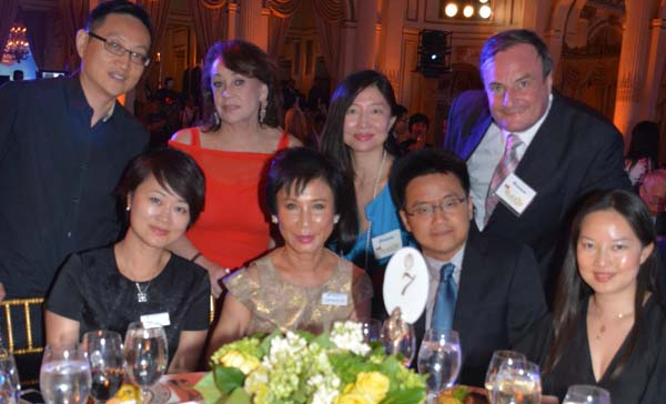 Cheng Wei, Chief Correspondent, Economic Daily, Andrea Spring, Cathy Han, Gerard Mc Keon, Liu Yu, Economic Daily, Linda Hong de Chef, General Manager, Breguet, Jason Chen, Zess Zhao