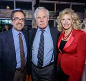 Andrew Revkin, Ted Turner and Sally Ranney, Photo by David Dupuy/AnnieWatt.com (CELF)