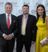 Bill Ritter (Anchor at WABC-TV), Richard Porter (CEO of CCHP),Liz Cho (Anchor at WABC-TV). Photo �IMAGEZS OF US 2013 | HUBERT WILLIAMS