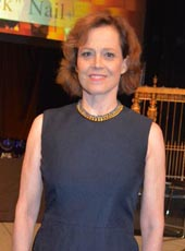 Sigourney Weaver, giants of broadcasting