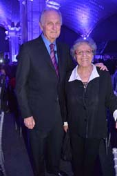 Alan Alda and his wife Arlene Alda.  Photo byL Rose Billings/Blacktiemagazine.com
