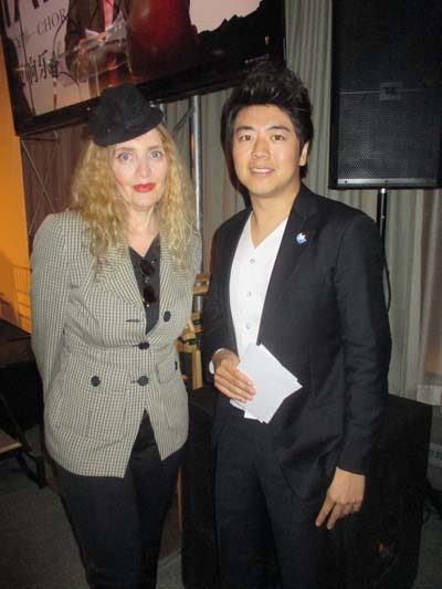 Joyce Brooks and Lang Lang