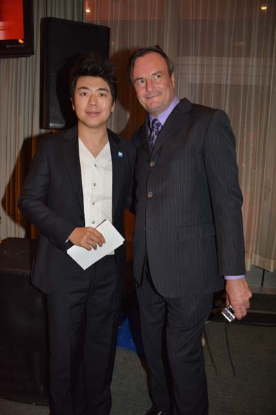 Lang Lang and Gerard Mc Keon. Photo y:  Rose Billings/Blacktiemagzine.com