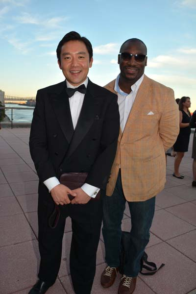 Sean Koh and Stan Style.  Photo by:  Rose Billings/Blacktiemagazine.com