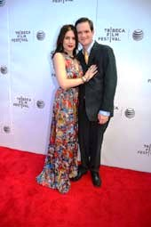 Lindsey Nebeker and Dave Hamrick.  Photo by:  Rose Billings/Blacktiemagazine.com
