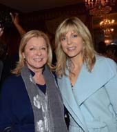 Carmen Anderson, Luncheon Co-Chair; Marla Maples