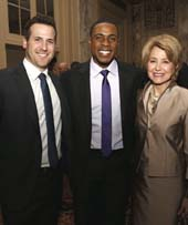 The IICF 2015 Northeast Benefit Dinner featured celebrity guest speakers including Mets outfielder Curtis Granderson and Emmy award-winning journalist Jane Pauley