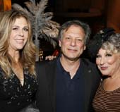 Honoree Rita Wilson, Ben Donenberg, SCLA Founding Artistic Director and Bette Midler