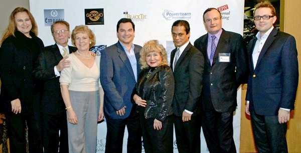 Architect Irena Skoda, Jim Swiger Managing Director EviroGlobal Solutions, Opera Singer Paula Oleska and President Brain Upgrade, Actor/Talent Director Bill Lanndis, Gloria T. Cressler Host & Event Producer & International Correspondent & TV Host,