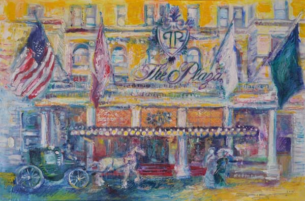 The Plaza Hotel,  Artist Michael Indorato