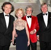 Pierre-Emmanuel Tattinger, Elizabeth Stribling, Juan Pablo Molyneux,  Denis de Kergorlay.  Photo by:  Cutty McGill