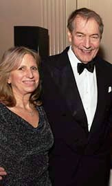 Louise Mirrer, Charlie Rose