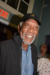 Morgan Freeman.  Photo by:  Rose Billings/Blacktiemagazine.com