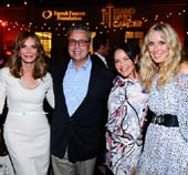 Honorees Jaclyn Smith, Daniel O�Connor (Advaxis President & CEO), Renata Helfman (Lipstick Angels Founder) and Alana Stewart, President & CEO, Farrah Fawcett Foundation.  Photo by:  Vince Bucci