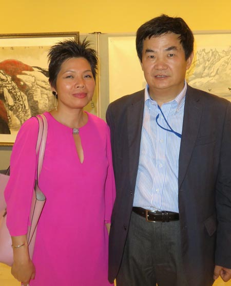 Lu Mei, Xudong Liu, Board Meber, United Nations SRC Chinese Book Club