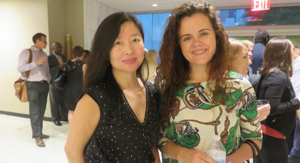 Cathy Han, Concierge Auctions, Maria Anokhina, Managing Partner, Mitex.