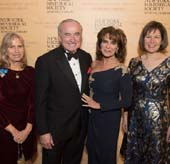 New-York Historical Society President Louise Mirrer, History Maker Award honoree William Bratton, History Maker Award honoree Rikki Klieman, Chair of New-York Historical Society�s Board of Trustees Pam Schafler. Photo by: Don Pollard.