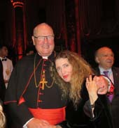 His Eminence Timothy Cardinal Dolan and Joyce Brooks