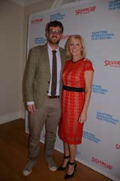 David Nugent (Artistic Director) and Anne Chaisson (Executive Director).  photo by:  Rose Billings/Blacktiemagazine.com