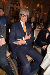 Tommy Tune.  Photo by:  Rose Billings/Blacktiemaagzine.com
