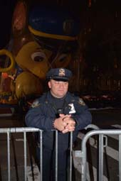 NYPD Police Officer Pilzer .  Photo by:  Rose Billings/Blacktiemaagzine.com