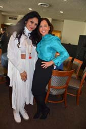 Donna D�Cruz and Wendy Diamond.  Photo by:  Rose Billings/Blacktiemaagzine.com