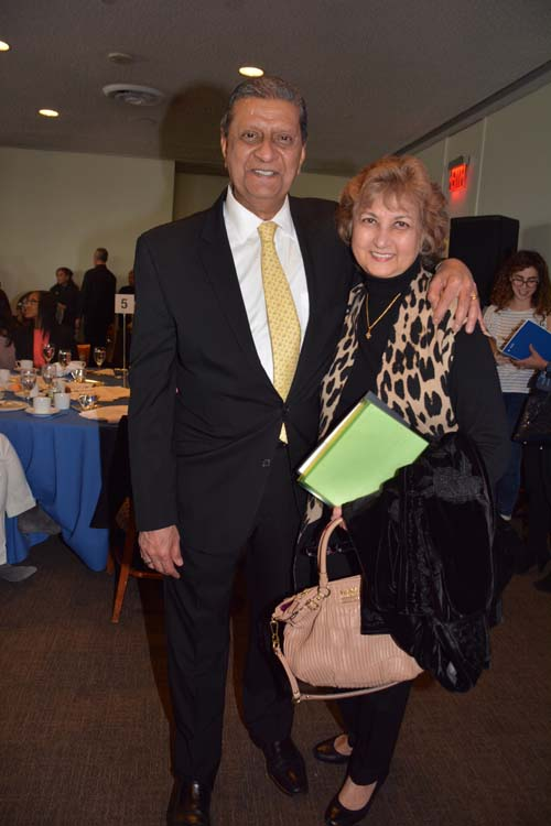 Amir Dossal  and Tas Dossal.  Photo by:  Rose Billings/Blacktiemaagzine.com