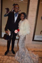 B. Michael and actress Cicely Tyson.  Photo by:  Rose Billings/Blacktiemagazine.com