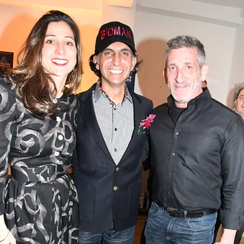 Eleni Janis, Alfie Rustom, Prof. Neil Theise.  Photo by:  Rose Billings/Blacktiemagazine.com