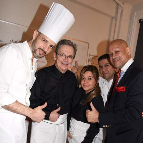 Glorious Food Crew & Mario Rinaldi (Champagne Sponsor - Prestige Des Sacres).  Photo by:  Rose Billings/Blacktiemagazine.com