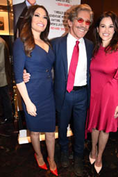Kimberly Guilfoyle, Geraldo Rivera and his wife Erica Michelle.  Photo by:  Rose Billings/Blacktiemagazine.com