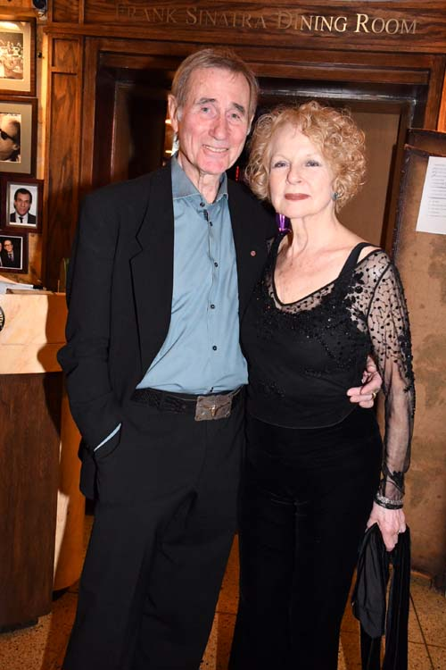Jim Dale ( Tony Award Barnum ) and Penny Fuller( Emmy Award The Elephant Man).  Photo by:  Rose Billings/Blacktiemagazine.com
