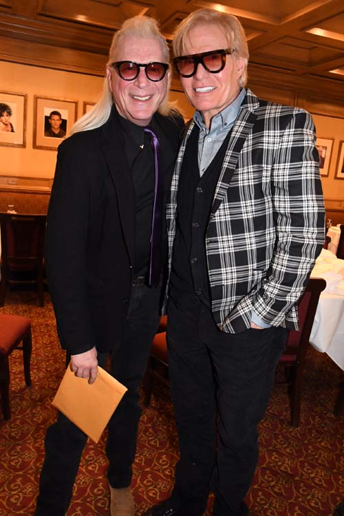Ron Abel and Chuck Stefan .  Photo by:  Rose Billings/Blacktiemagazine.com