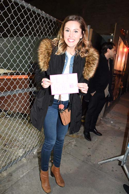 Taylor Louderman, cast.  Photo by:  Rose Billings/Blacktiemaagzine.com