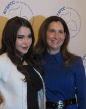 McKayla Maroney and Penny Grant, MD, .  Photo by:  Joyce Brooks/Blacktiemagazine.com