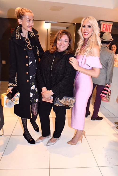 Barbara Regna , Ivonne Camacho and Tracy Stern.   Photo by: Rose Billings/Blacktiemagazine.com