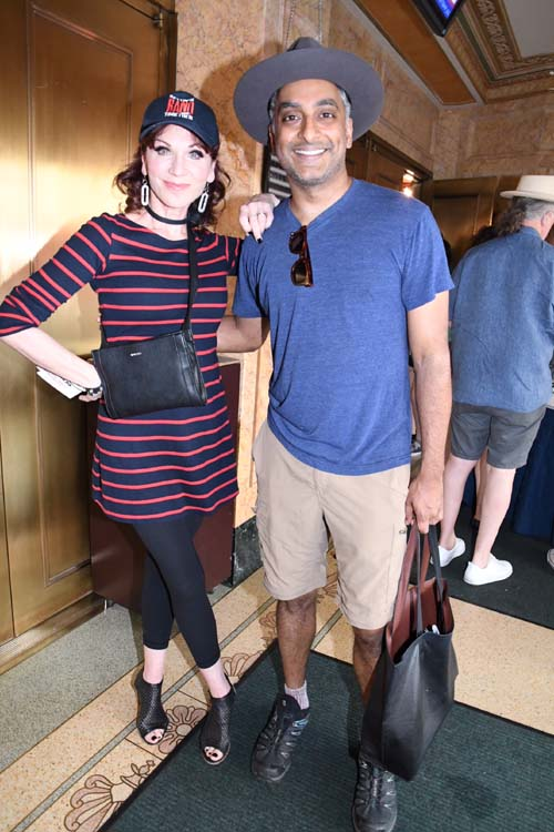 Marilu Henner and Manie Narayan (Gettin The Band BackTogether).  Photo by: Rose Billings/Blacktiemagazine.com