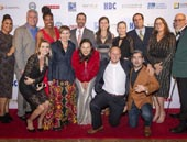 US Green Building-Los Angeles Chapter Board of Directors celebrated the 14th annual Green Gala at Taglyan Cultural Complex (L to R, top):  Ruby Yepez, John Egan, Jasmine Lomax, Dave Intner, Cassy Aoyagi, Holly Hill, Ben Stapleton, Julie Du Brow, Richard Ludt; (L to R, bottom) Fernanda Zuin, Heidi Creighton, Sara Neff (Chair), Drew Shula, and Anthony Brower.  Key sponsors:  Diamond - BuroHappold, Kilroy Realty Corp. and Southern California Edison; Sapphire � Building Skills Partnership and FormLA Landscaping.Photo by Nick Agro