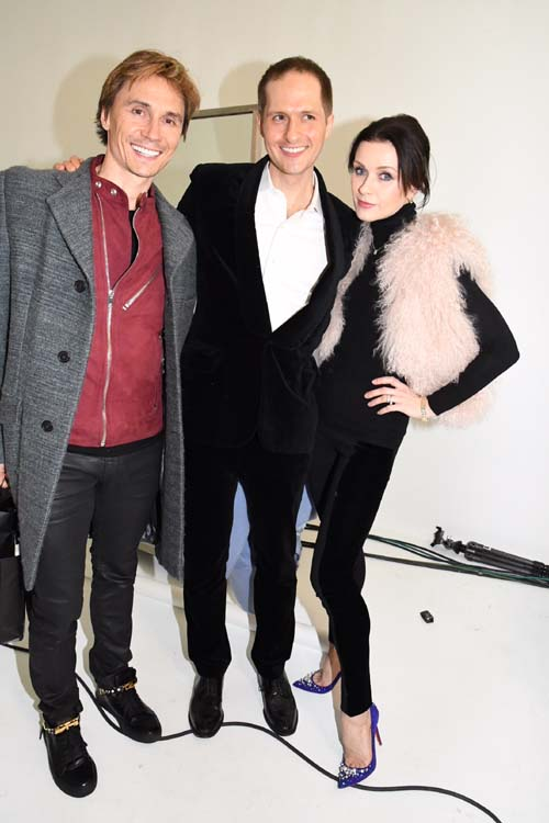 Maxim Dvorenko, Patrick and Irina Dvorenko.  Photo by:  Rose Billings/Blacktiemagazine.com