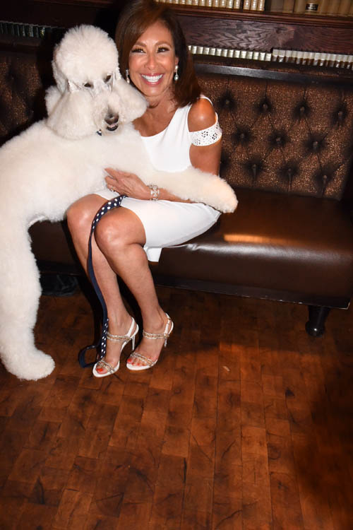 Sir Lancelot Judge Jeanine Pirro.  Photo by:  Rose Billings/Blacktiemagazine.com