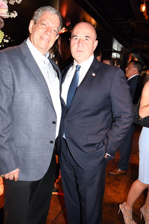 Mitchell Modell and Bernie Kerik.  Photo by:  Rose Billings/Blacktiemagazine.com