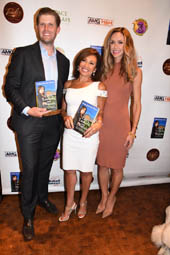 Eric Trump, Judge Jeanine Pirro and Lara Trump.  Photo by:  Rose Billings/Blacktiemaagzine.com