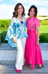 Camille Zamora and Margie Loeb. Photos By: Photo by Sean Zanni/Getty Images for Beach Magazine