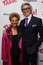 Honorees Leslie Uggams, Actress, and Tommy Tune, Director and Choreographer. Photo by:  Chad David Kraus