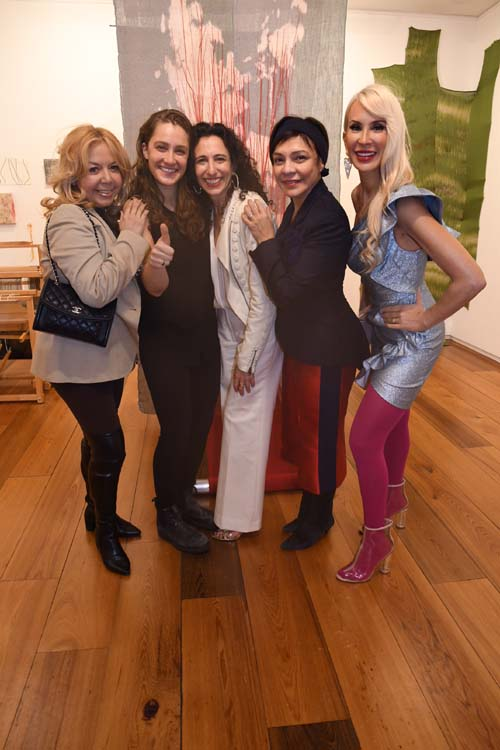 Adele Nino, Guest, Sara Kay, Mariebelle Lieberman and Tracy Stern .  Photo by:  Rose Billings/Blacktiemagazine.com, Sara Kay Gallery