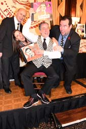 "Bob Spiotto in (Center)Courting The Jester A Musical Salute to Danny Kaye"".  Photo by:  Rose Billings/Blacktiemagazine.com"