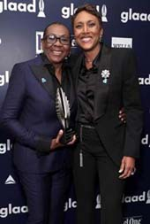 Ms. Gloria Carter and Robin Roberts